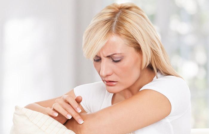 Was sind die Symptome einer Hautentzündung