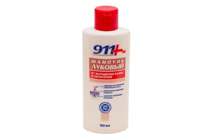911 ONION Shampoo gegen Haarausfall