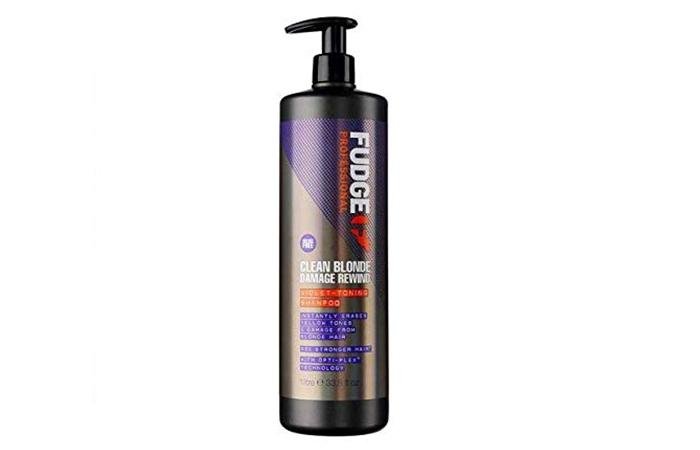 Fudge Professional Purple Straffendes Shampoo für blondes Haar