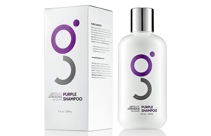Get Back Gorgeous Purple blond Shampoo