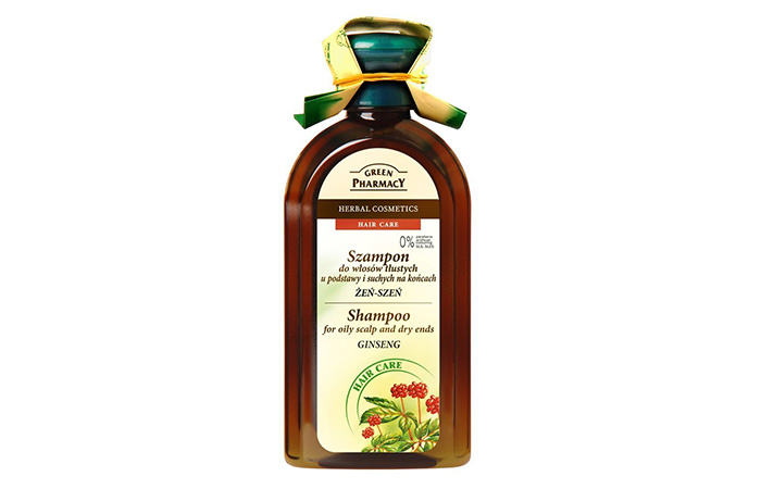 Green Pharmacy Kräuter Shampoo Ginseng Fettiges Haar