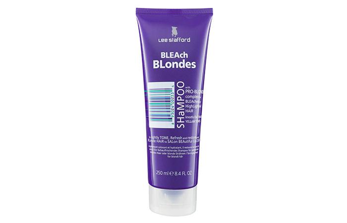 Lee Stafford Bleach Blondes Shampoo1