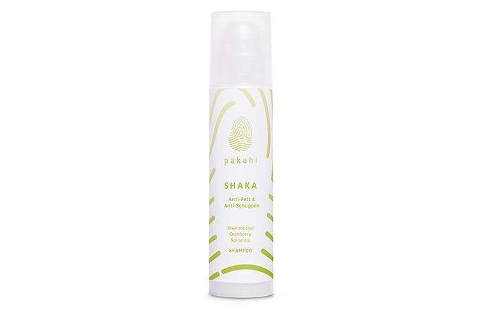 Yağlı saçlara karşı PAKAHI organik kepek önleyici şampuan