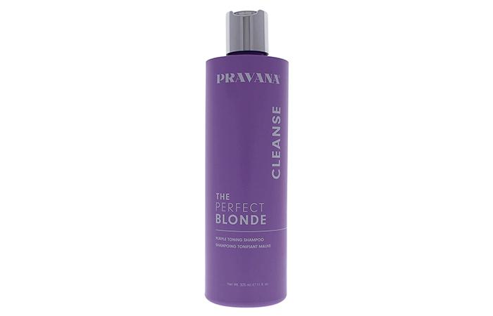 PRAVANA THE PERFECT BLONDE Purple Toning Sulfate-Free Shampoo