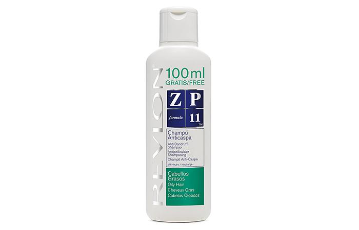 Yağlı saçlar için Revlon ZP11 kepek önleyici şampuan