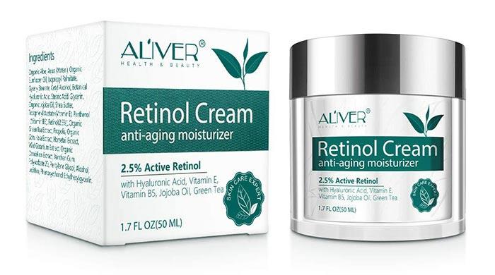 Aliver Retinol Creme für Gesicht