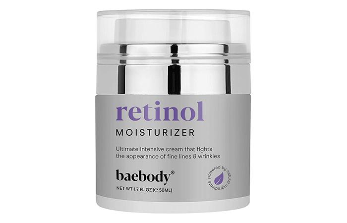 Baebody retinol moisturizer creme mit retinol