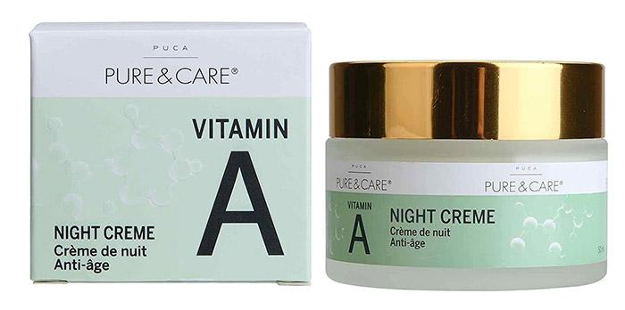 PUCA - PURE & CARE-StoreRetinol Vitamin A Nacht Creme